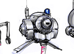Ticket Drone concepts